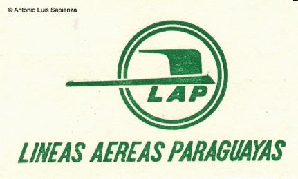 Escudo LAP: El escudo de LAP adoptado con la incorporación de los Electra C en 1969. Foto copyright: Colección de Antonio Luis Sapienza.