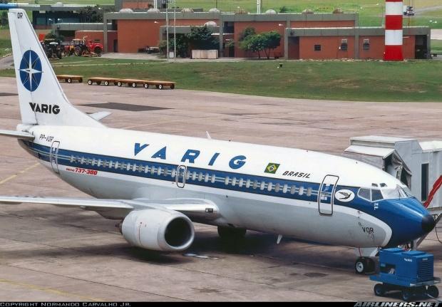 737-300 VARIG old liv