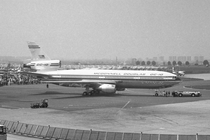 08 McDonnell Douglas DC-10-10 N1803U McDonnell Douglas Demo