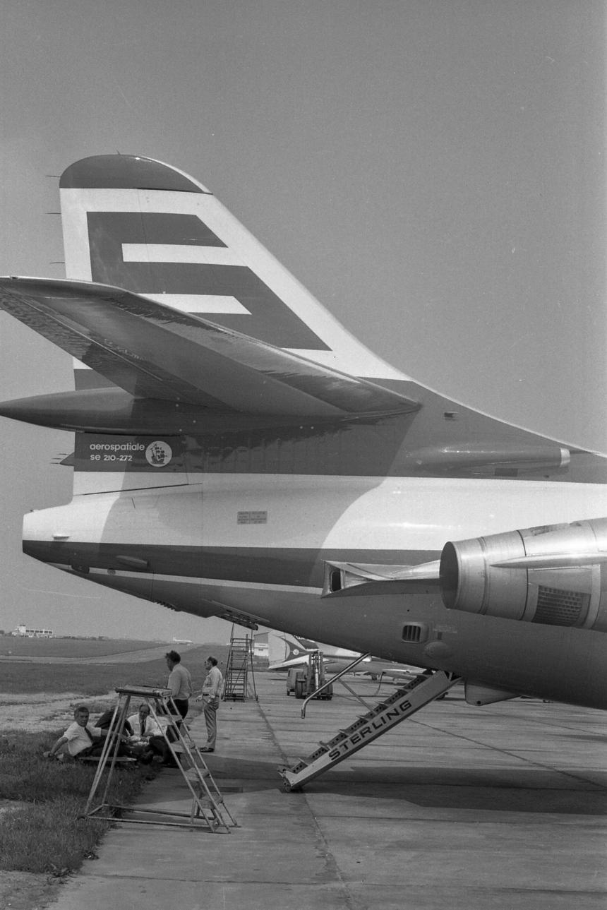 img480 Sud-Aviation SE.210 Caravelle 12 OY-SAD Sterling