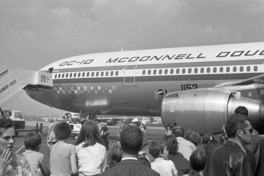 img496 McDonnell Douglas DC-10-10 N1803U McDonnell Douglas Demo