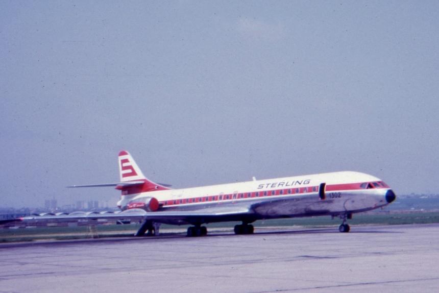img508 Sud-Aviation SE.210 Caravelle 12 OY-SAD Sterling
