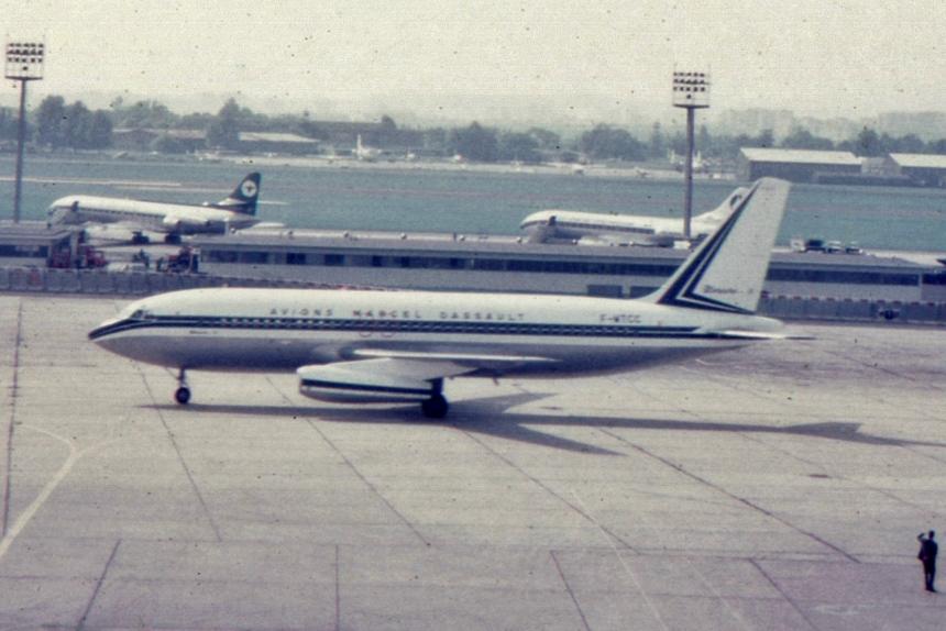 img516 Dassault Mercure-100 F-WTCC Marcel Dassault