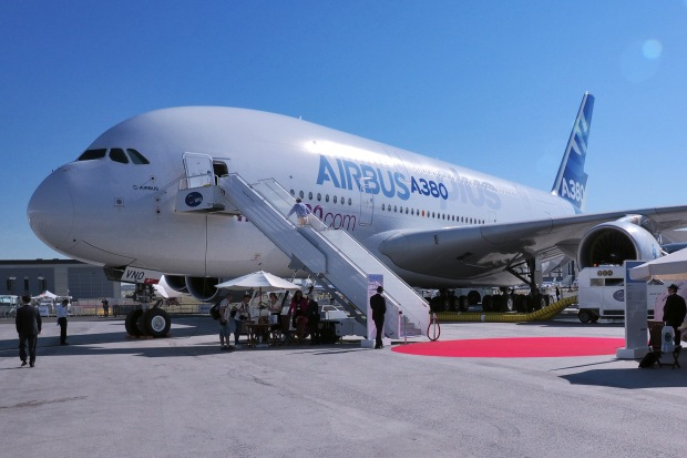 Airbus A380plus Paris Air Show