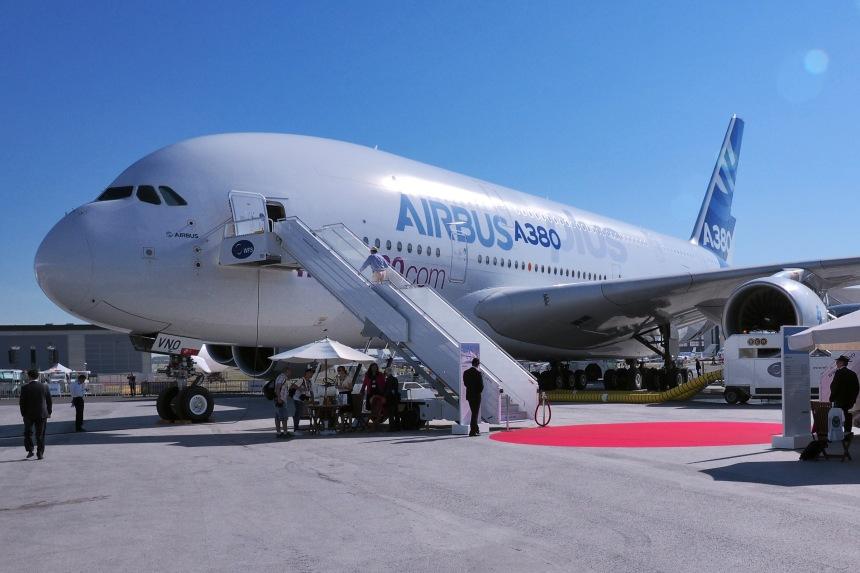Airbus A380plus Paris Air Show