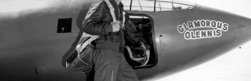 """Charles Elwood """"Chuck"""" Yeager"""