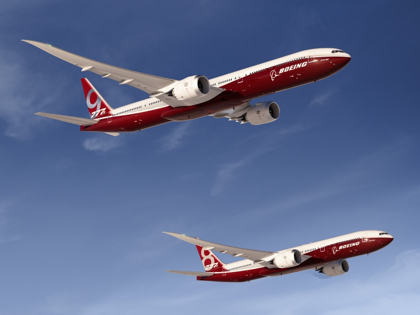 Boeing 777-8X & 777-9X Artwork
