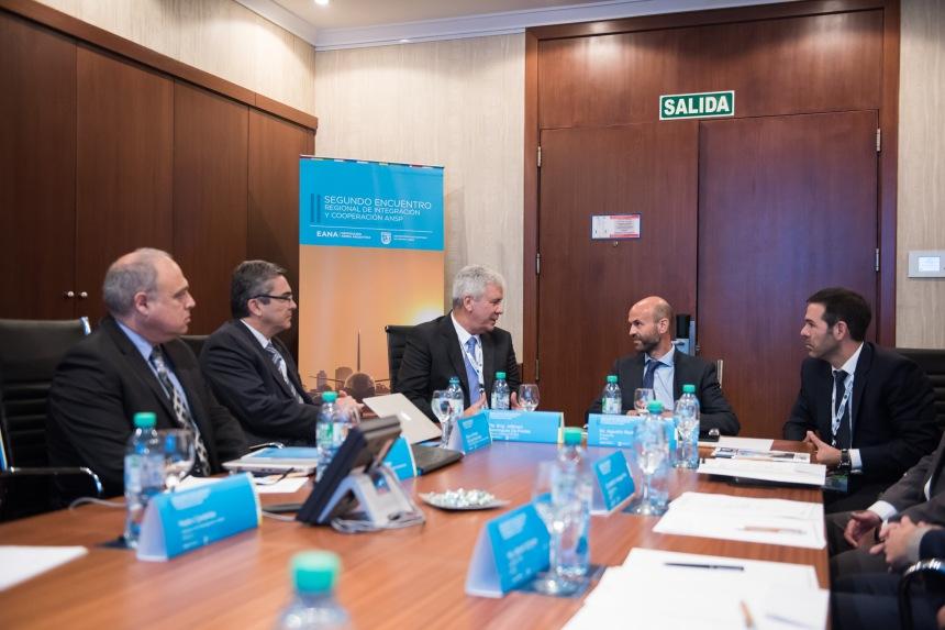 2do Encuentro Regional y ANSP_Visita Ministro Guillermo Dietrich