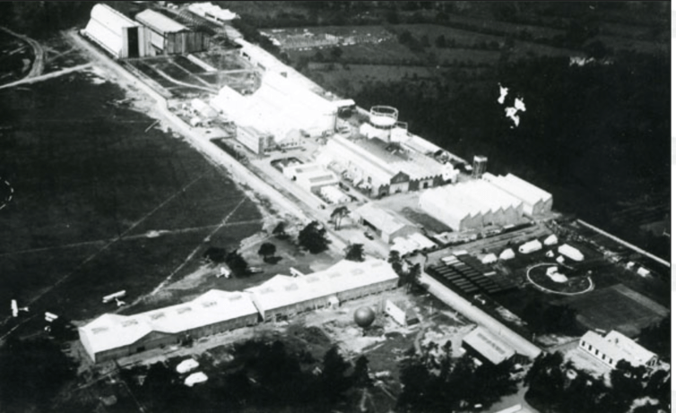 La Royal Aircraft Factory en Farnborough