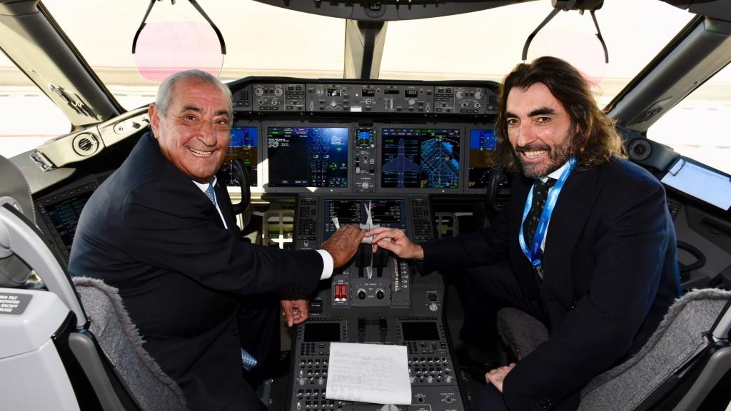Air Europa presenta su primer Boeing 787-9