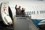 1st MAX-7 SWA 1E001 Line 6744 First Flight