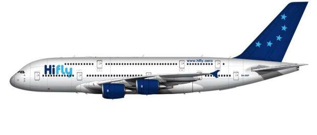hi-fly A380