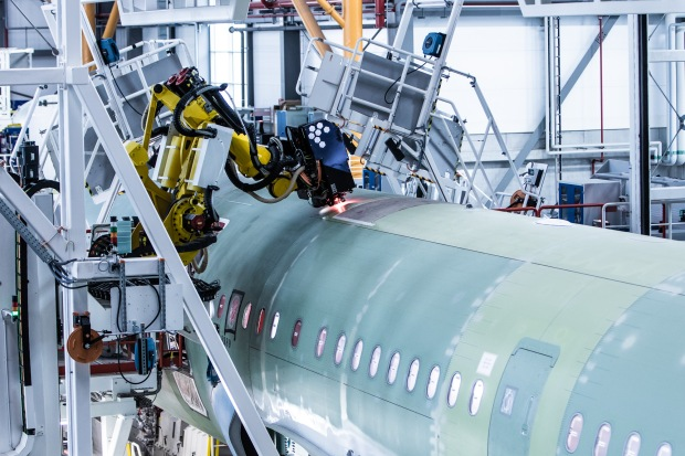 Axis-robot-4th-A320-Family-production-line-Airbus-Hamburg