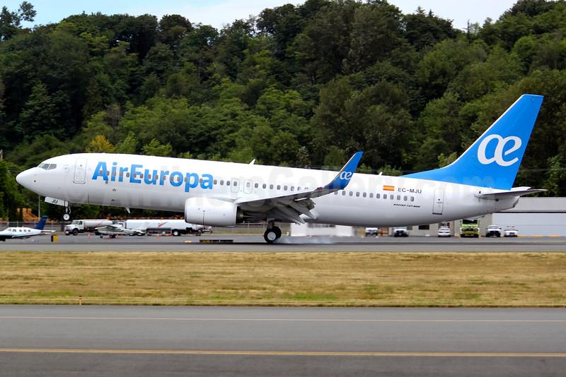 Air Europa 737-800 WL EC-MJU (15)(Ldg) BFI (JGW)(46)-L