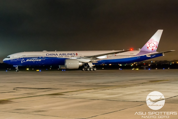 Avião Boeing 777 China Airlines