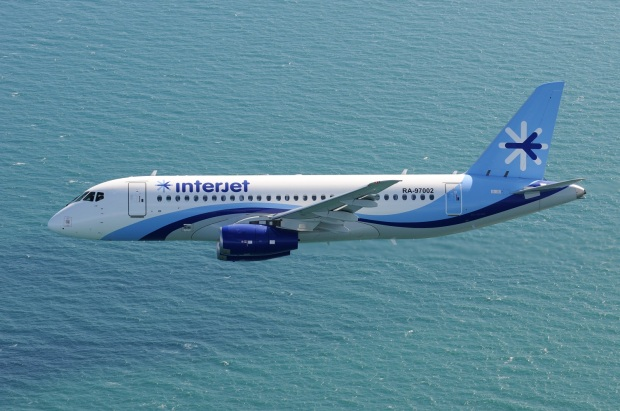 SSJ100_for_Interjet_inflight_over_Venice