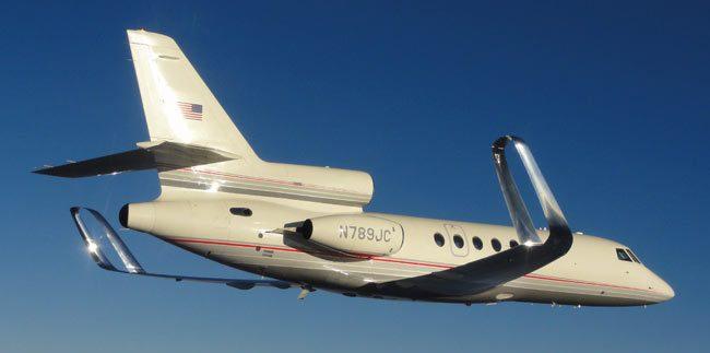 Winglets Falcon 50 Spiroid