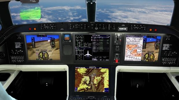 Embraer Legacy 500 Flight Deck