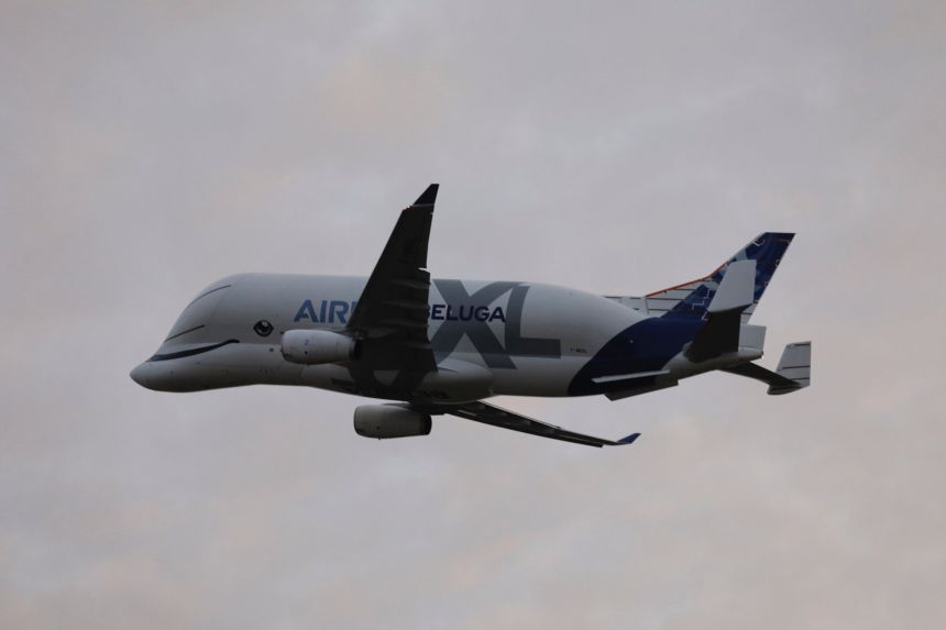 BelugaXL-in-flight-Germany