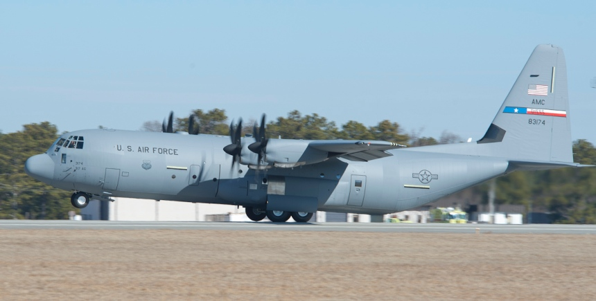 MP11-0095 Brig. Gen Lawrence Martin C-130J 5648 delivery 01-21