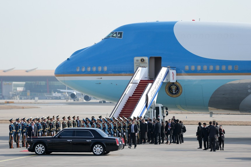 U.S. President Barack Obama Arrives In Beijing For APEC Summit