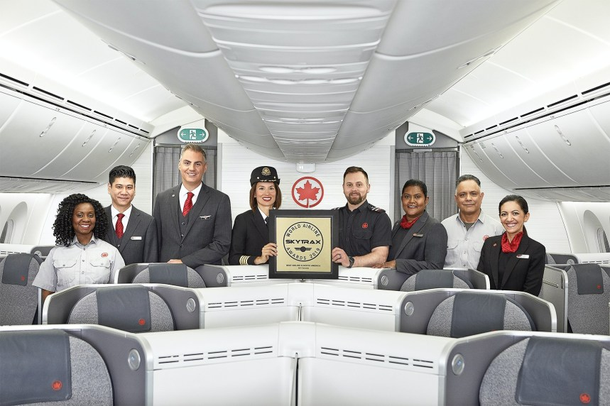 Air Canada-Air Canada Named Best Airline in North America for Th